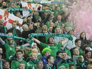 Celtic FC fans: Just warming up