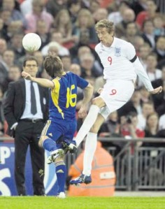 Crouch, reception for club and country