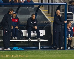 Bob Bradley and coaches