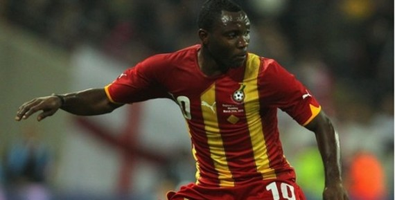 Does this man hold the key for the Black Stars this year? Kwadwo Asamoah, playing out of position at leftback for Ghana