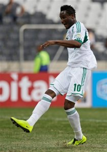 Some say the Africa Cup of Nations and playing for his native Nigeria is only where John Obi Mikel's quality is appreciated. He also missed a big chance though last week.