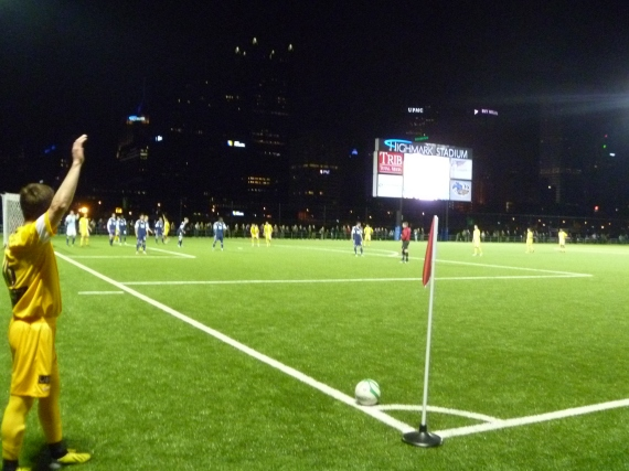 The Riverhounds ... cornered for a stadium no longer...