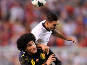 Dempsey, looking to rise higher against Die Mannschaft.