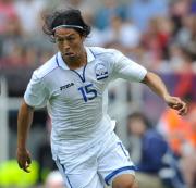Espinoza, ferocious for Honduras...