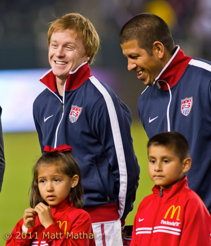 """Dax, that's exactly how Kreis looked when he saw the RSL Gold Cup call-up list."""