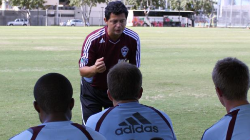 Wilmer Cabrera for the Colorado Rapids
