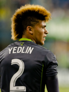 Speedy McSpeedster: DeAndre Yedlin, commissioned for the All-Star game.