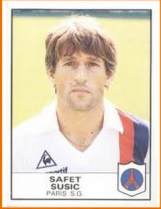 Safet Sušić in his playing days...