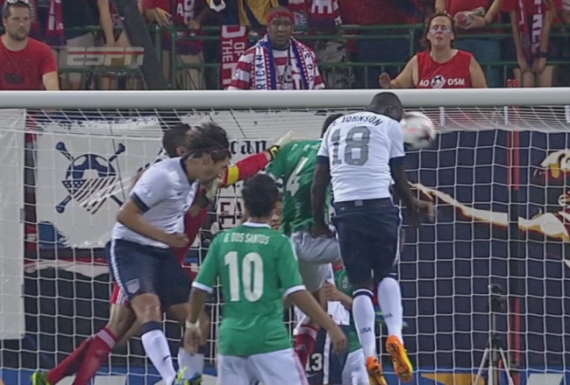 Eddie Johnson, dropping headers like dimes in 2013. Now he just needs the 'Benjamins.