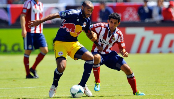 On August 25th, basement-tenant-on-rent-control Chivas USA whupped up on the New York Red Bulls, 2-0. That would be the 2013 MLS Supporter Shield victorious Red Bulls.
