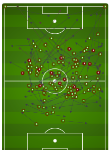 Bradley gets the right flank going.