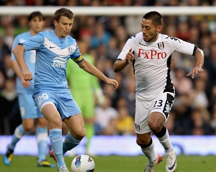 Ruslan Rotan and Clint Dempsey may face off again Thursday almost three years after they dueled in the Europa League.