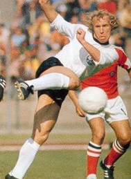 'Bajaini manager Berti Vogts in his playing days. I have to believe that Will Farrell is a top target to play him in the faux documentary.