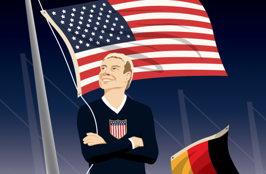 Klinsmann: Divided, he stands?
