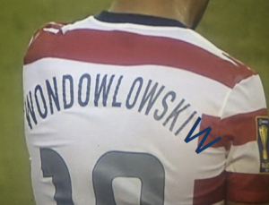 "More ""W's"" guaranteed on Wondo's jersey then the US in Brazil..."
