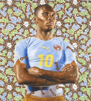 """LACMA, """"Futbol: The Beautiful Game""""."""