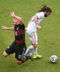 Beckerman: A nose for the ball...